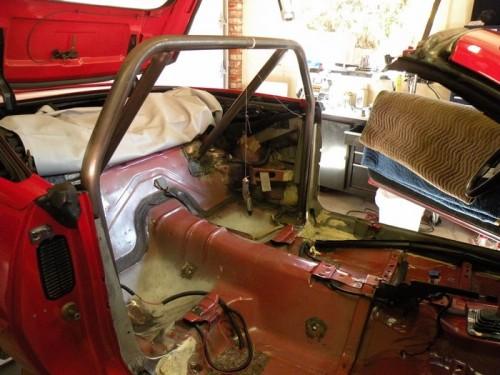 F-Body Camaro Firebird Convertible Roll Cage Installation 10
