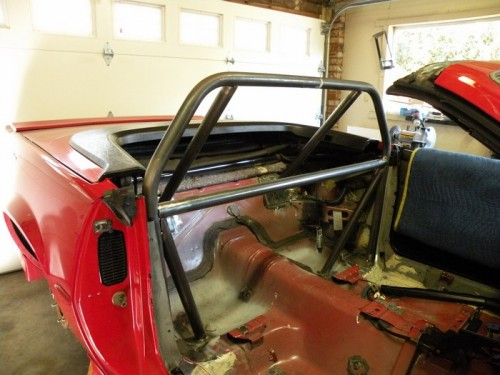 F-Body Camaro Firebird Convertible Roll Cage Installation 13