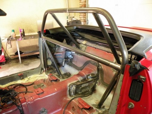 F-Body Camaro Firebird Convertible Roll Cage Installation 14