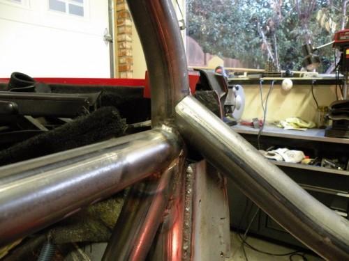 F-Body Camaro Firebird Convertible Roll Cage Installation 17