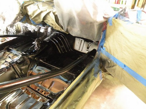 F-Body Camaro Firebird Convertible Roll Cage Installation 18