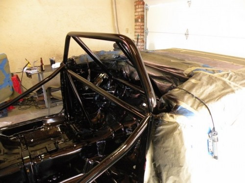 F-Body Camaro Firebird Convertible Roll Cage Installation 19