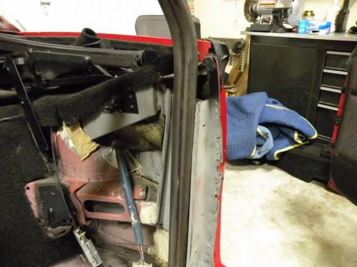 F-Body Camaro Firebird Convertible Roll Cage Installation 2