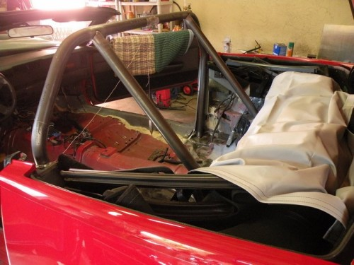 F-Body Camaro Firebird Convertible Roll Cage Installation 11