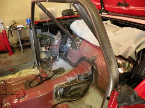 F-Body Camaro Firebird Convertible Roll Cage Installation 12