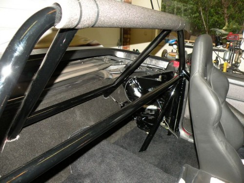 F-Body Camaro Firebird Convertible Roll Cage Installation 21