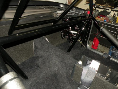 F-Body Camaro Firebird Convertible Roll Cage Installation 22